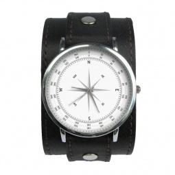 """Часы """"Компас"""", дизайнерский ремешок"""