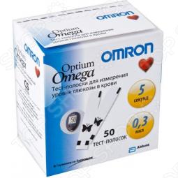 фото Тест полоски для глюкометра Omron Optium Omega, купить, цена