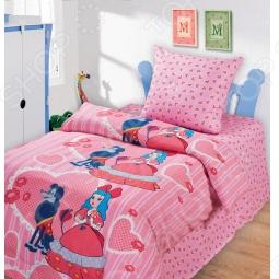 фото Комплект постельного белья Непоседа Мальвина, Детские комплекты постельного белья