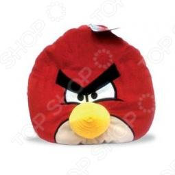 фото Подушка-игрушка декоративная Angry Birds Red Bird, Подушки детские