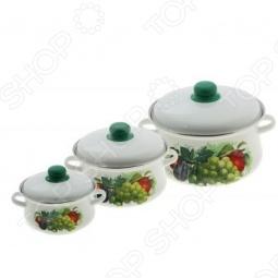 фото Набор посуды Эмаль Ассорти, купить, цена