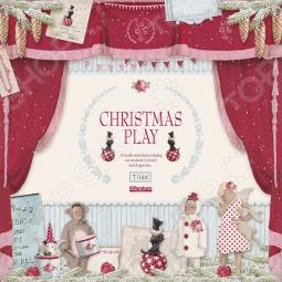 фото Набор бумаги Tilda Рождественская Пьеса, купить, цена