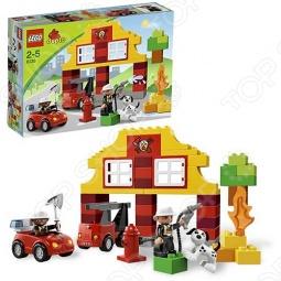 фото Конструктор Lego Мой Первый Пожарный Участок, Серия Duplo