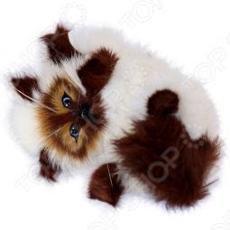 фото Сувенир интерактивный «Кошка играющая с голосом». Цвет: белый, купить, цена