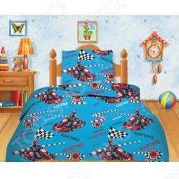 фото Комплект постельного белья Кошки-Мышки Картинг, Детские комплекты постельного белья