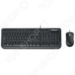 фото Клавиатура с мышью Microsoft Wired Desktop 600, Комплекты: клавиатуры и мыши