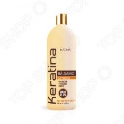 фото Бальзам укрепляющий с кератином для всех типов волос Kativa. Объем: 500 мл, Бальзамы и ополаскиватели
