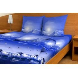Комплект постельного белья с бамбуковыми волокнами. 2-спальный