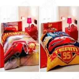 фото Комплект постельного белья TAC Cars Champion Team, Детские комплекты постельного белья