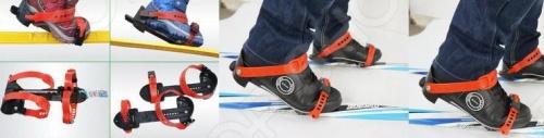 Как сделать крепление для лыж ребенку