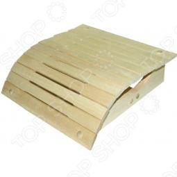фото Подголовник Банные Штучки Малый Липовый, Лавочки, скамейки, шезлонги для бани