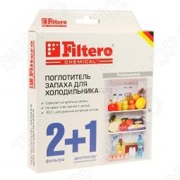 фото Поглотитель запаха для холодильника Filtero 504, Аксессуары для крупной бытовой техники