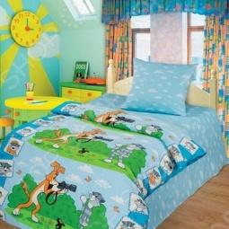 фото Комплект постельного белья Непоседа Фоторепортаж, Детские комплекты постельного белья