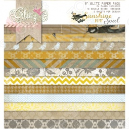 фото Набор бумаги Glitz Design Sunshine In My Soul, купить, цена