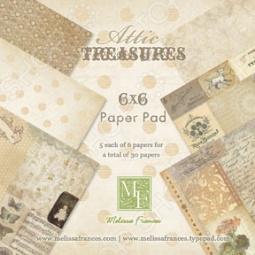 фото Набор бумаги Melissa Frances Attic Treasures, купить, цена