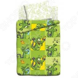 фото Комплект постельного белья Непоседа Крокодильчик Свомпи, Детские комплекты постельного белья