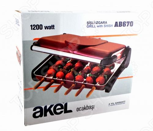 Электрогриль Akel AВ-670 (Турция)