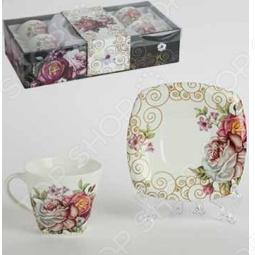фото Набор кофейный «Утренние розы», Чайные сервизы