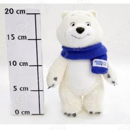 """Игрушка Белый мишка """"Sochi 2014"""" 20 см"""