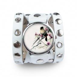 """Часы """"Сакура"""", дизайнерский ремешок"""