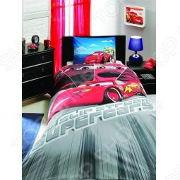 фото Комплект постельного белья TAC Cars Face Movie, Детские комплекты постельного белья