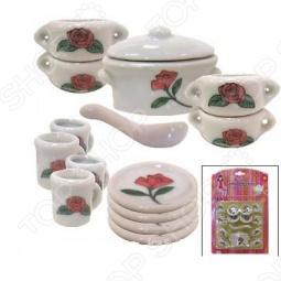 фото Набор посуды для детей Маруся Нам Без Супчика Никак, Посуда для детей