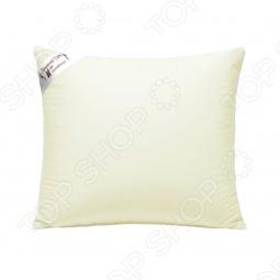 фото Подушка из шелка стеганная Домашний уют. Размер: 68х68, Классические подушки
