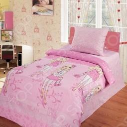 фото Комплект постельного белья Непоседа Подиум, Детские комплекты постельного белья