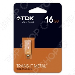фото Флешка TDK Trans-It Metal Orange 16Gb 2.0 Usb Flash Drive, Флешки
