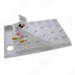 фото Таблетница Pillbox, Полезные мелочи для красоты и здоровья