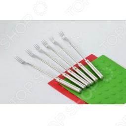 фото Набор вилок с 3-мя зубцами для фондю Stahlberg 5741-S, Электрофондю