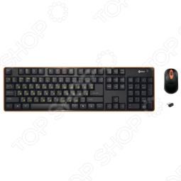 фото Клавиатура беспроводная с мышью Kreolz Wmks21, Комплекты: клавиатуры и мыши
