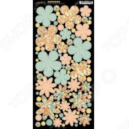 фото Набор стикеров Graphic45 Flowers Secret Garden, купить, цена