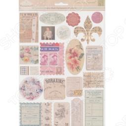 фото Набор стикеров из кардстока Melissa Frances Air Mail, купить, цена
