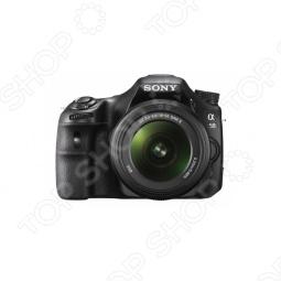 фото Фотокамера цифровая Sony Slt-A58K Kit 18-55, Зеркальные фотоаппараты