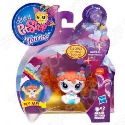 Набор игровой для девочек Littlest Pet Shop Зверюшки-феи со светящимся эффектом