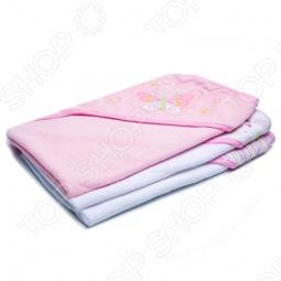 фото Комплект полотенец с капюшоном Spasilk «Бабочка», Полотенца. Салфетки для купания