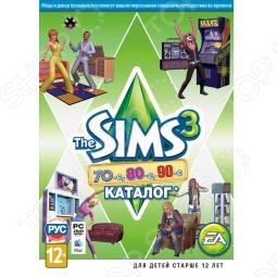 фото Игра для pc Ea Games Sims 3 70-Ые, 80-Ые, 90-Ые. Каталог (Rus), Игры для PC