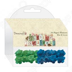 фото Набор цветочков бумажных Trimcraft Dcxfw04, купить, цена