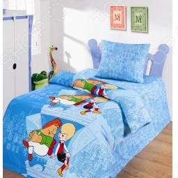 фото Комплект постельного белья Непоседа На Крыше, Детские комплекты постельного белья