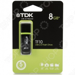 фото Флешка TDK Tf10 Black 8Gb 2.0 Usb Flash Drive, Флешки
