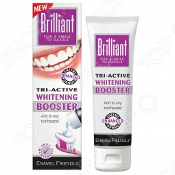 фото Отбеливающий гель для зубов Brilliant Тройного Действия, Зубные пасты и ополаскиватели для рта