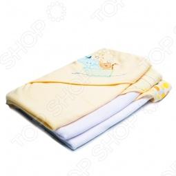 фото Комплект полотенец с капюшоном Spasilk «Зверята», Полотенца. Салфетки для купания