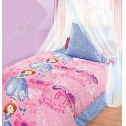фото Комплект постельного белья Непоседа Экипаж Принцессы, Детские комплекты постельного белья