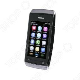 фото Мобильный телефон Nokia 305 Asha Silver White, Мобильные телефоны с 2-я sim-картами