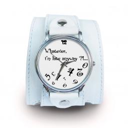 """Часы """"Какая Разница"""", дизайнерский ремешок"""