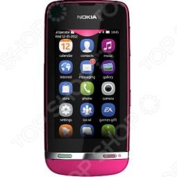 фото Мобильный телефон Nokia 311 Asha Rose Red, Смартфоны