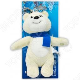 "Игрушка-брелок Белый мишка ""Sochi 2014"" 12 см"