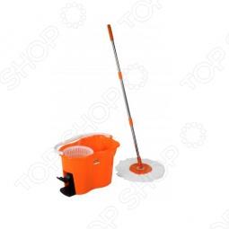 фото Набор для влажной уборки: швабра-моп и ведро пластиковое Irit Irl-01, Швабры и щетки