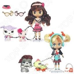 Набор игровой для девочек Littlest Pet Shop Блайс и 2 зверюшки. В ассортименте.